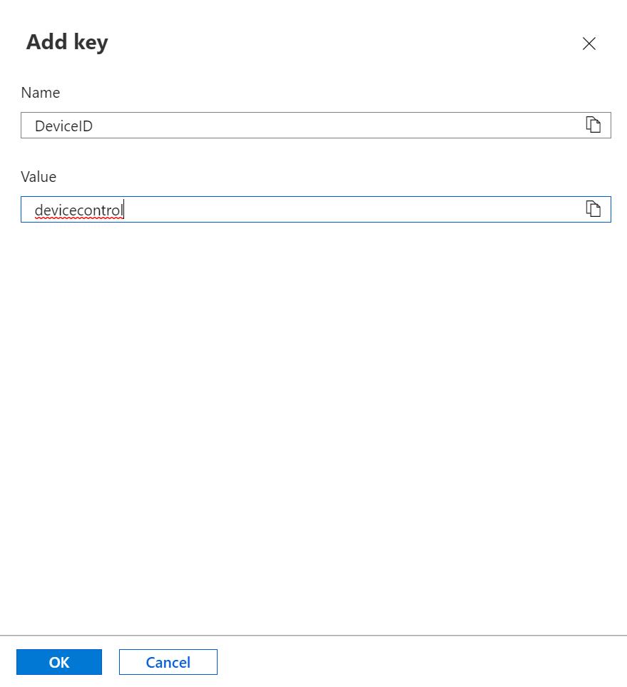 Azure Function - IoT Device ID Key
