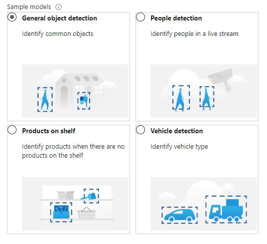 Azure Percept - Sample Vision Models