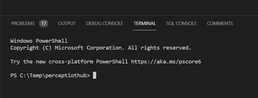 VS Code - Terminal
